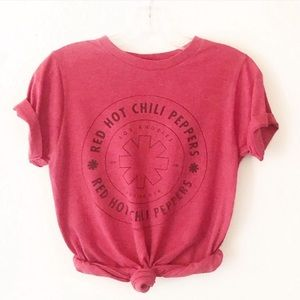 RED HOT CHILI PEPPERS retro graphic band tee